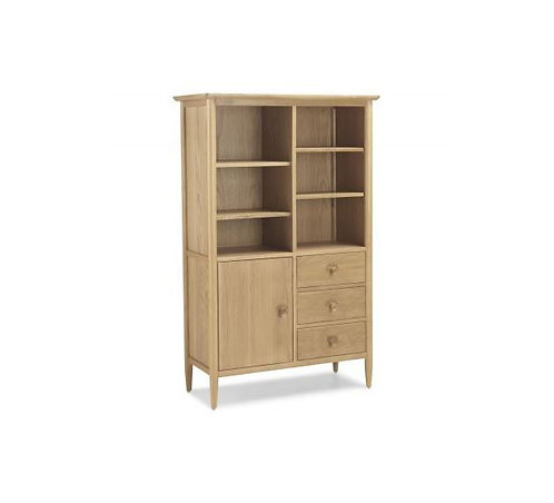 Skien Oak - Display Cabinet
