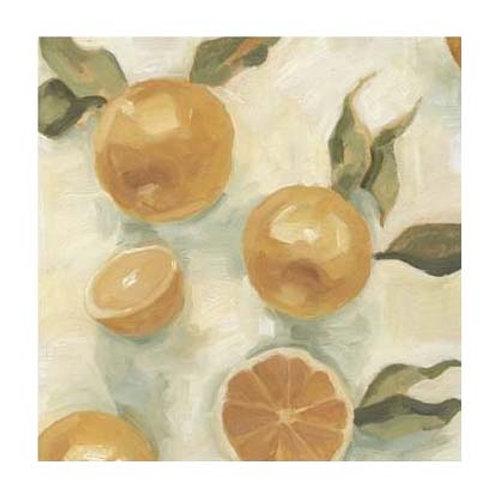 Citrus Study in Oil IV - Canvas Art