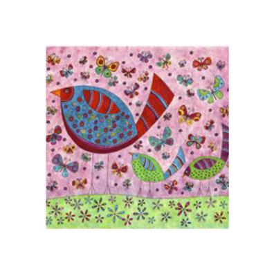 Bird Walk- Canvas Art