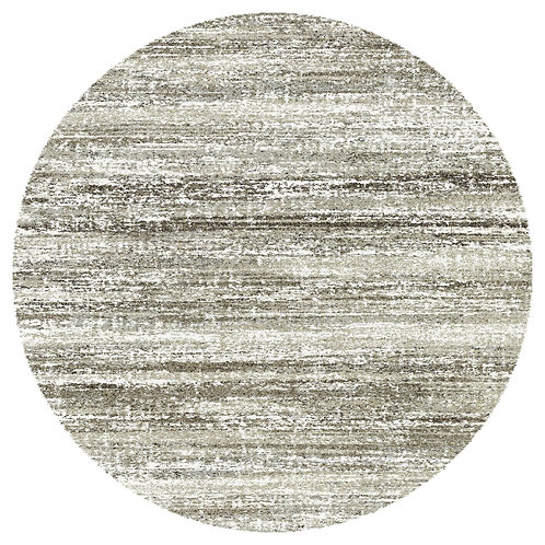 Mehari - Sketch II Circular Rug - Brown