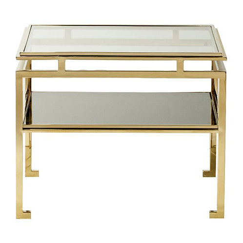 Calabria Side Table in Gold