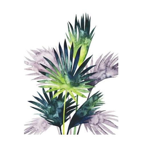 Twilight Palms III - Canvas Art