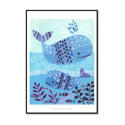 Ocean Blue - Framed & Mounted Art