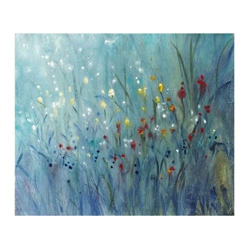 Blue Vision I - Canvas Art