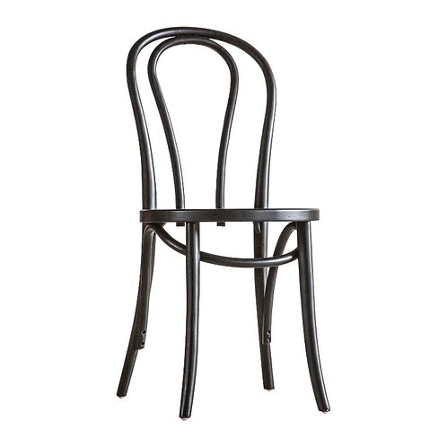 Juliette Black Dining Chair - Pack of 2