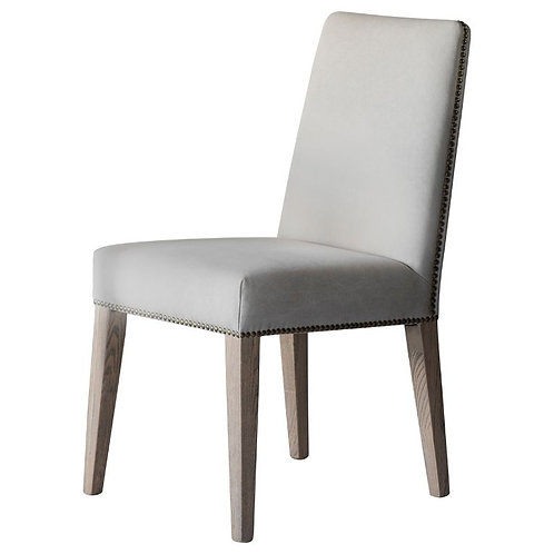 Cement Linen Bex Dining Chair - Pack of 2