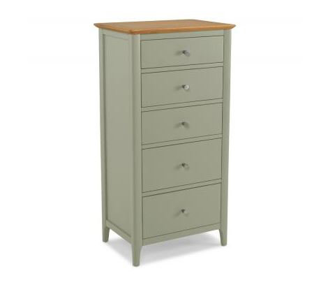Sedona Painted - 5 Drawer Tall Chest