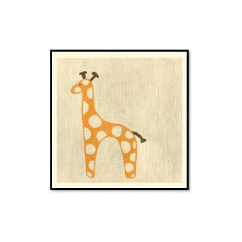 Best Friends- Giraffe- Framed & Mounted Art