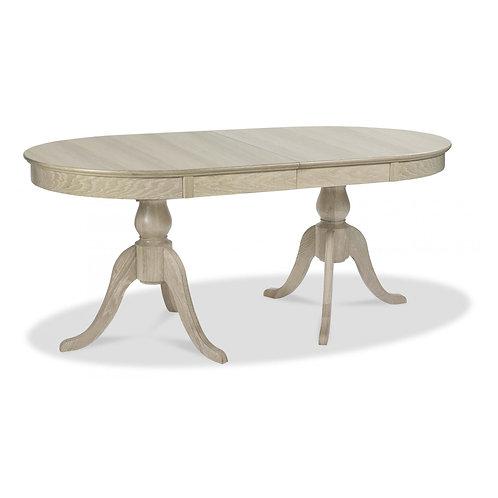 Bordeaux Chalk Oak 6-8 Dining Table