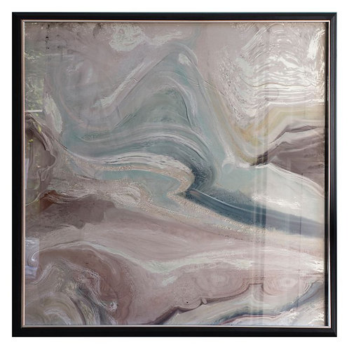 Flow with the Wind Framed Art