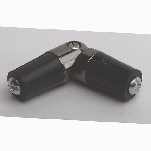Hallis 35 mm Neo Elbow Corner Joint - Black Nickel