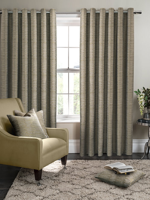 Campello Olive Curtains
