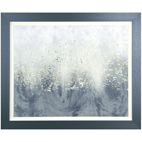 Glitter Swirl I - Framed Art