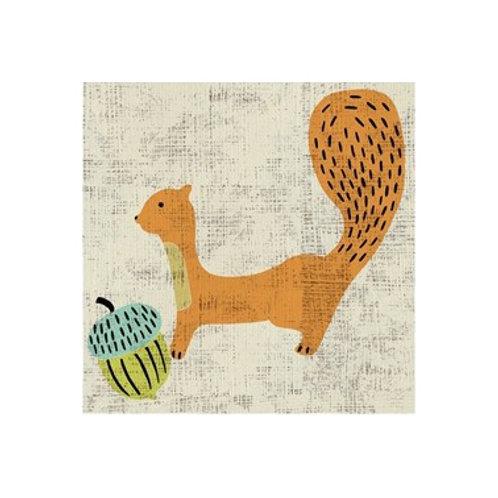Ada's Squirrel- Canvas Art