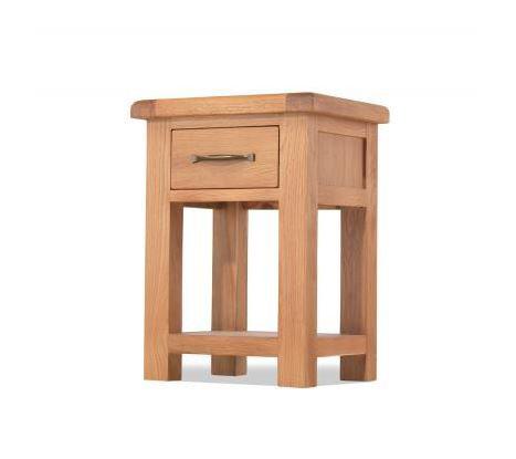 Burnham Oak - 1 Drawer Bedside