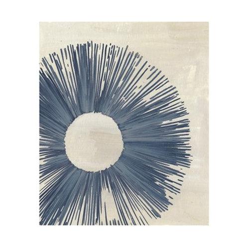Blue Burst II - Canvas Art