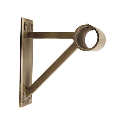 Neo 35 mm End Bracket - Spun Brass