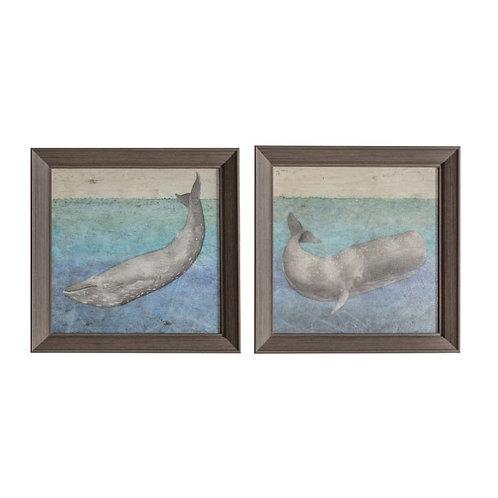 Deep Dive - Framed Art