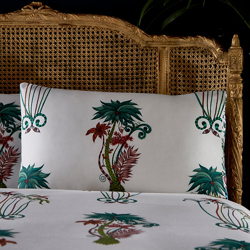 Jungle Palms Standard Pillowcase Pair