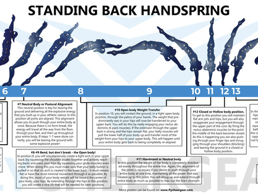 How to do a back handspring?