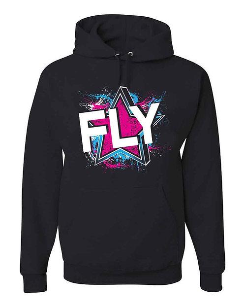 Fly Black Hoodie