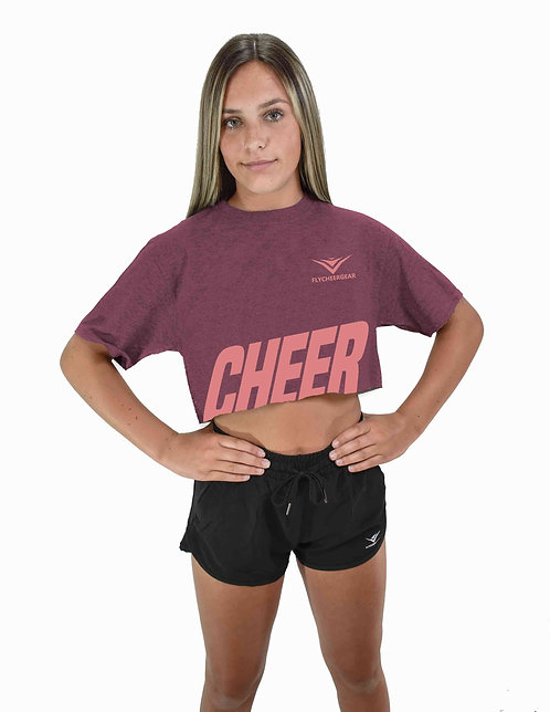 Cheer Cropped Tee