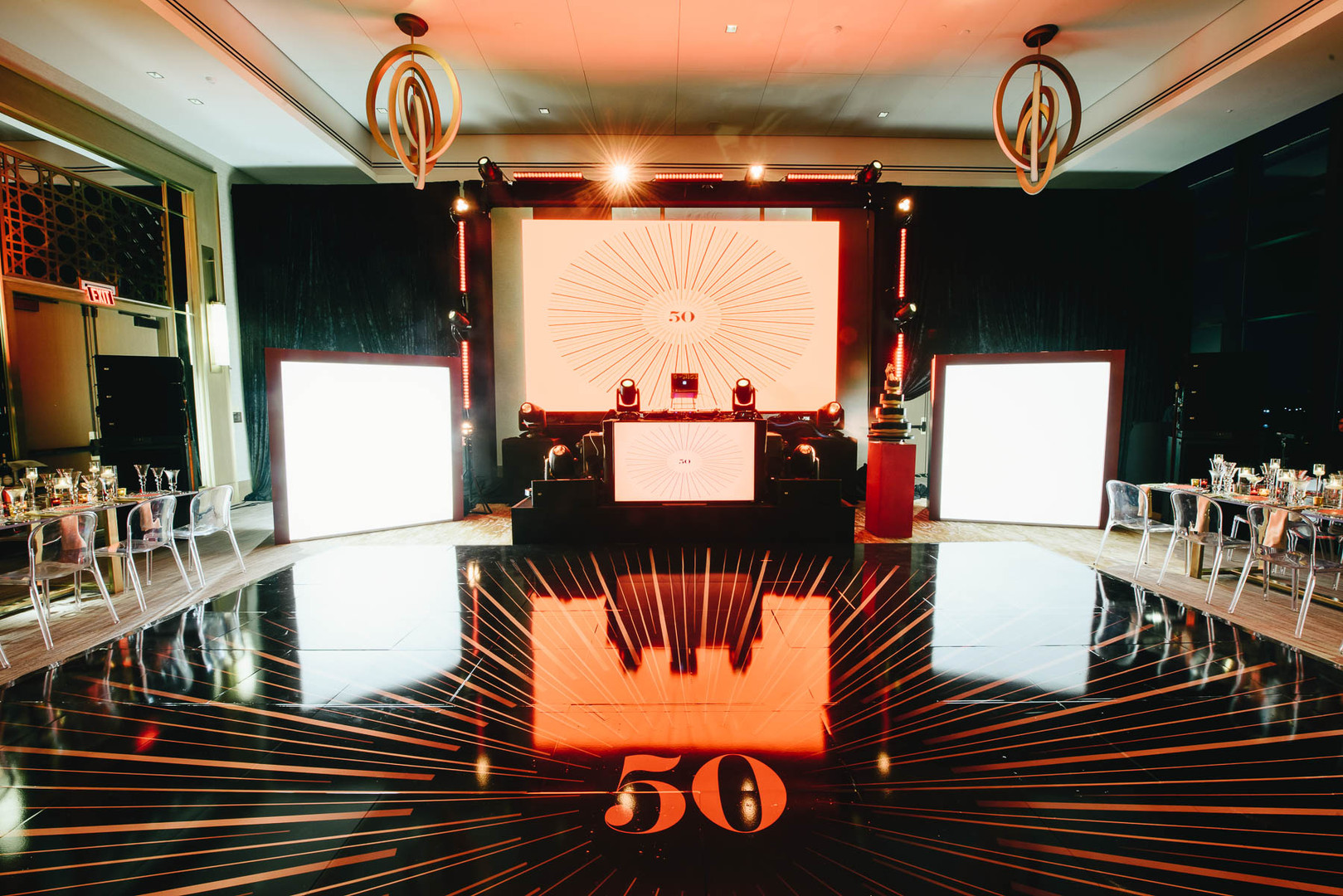50th Birthday Party with Evoke