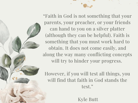 When You are Questioning God, Remember this.