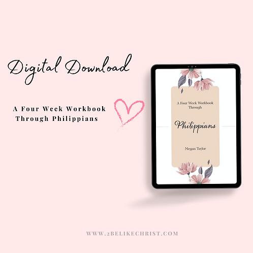 A Four Week Workbook Through Philippians