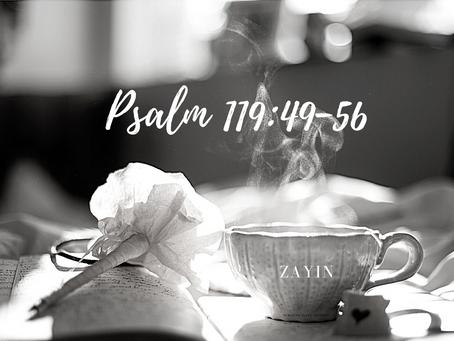 Psalm 119:49-56