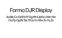 Forma-DJR-Display-Font.png