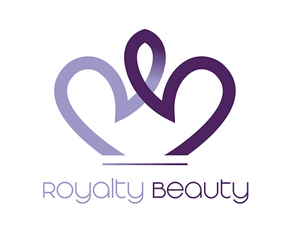 Royalty Beauty Logo-RB crown-purple