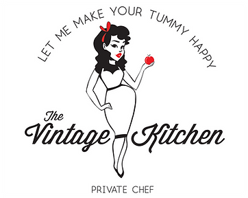 The Vintage Kitchen Logo-Private Chef-La Crosse-Wisconsin