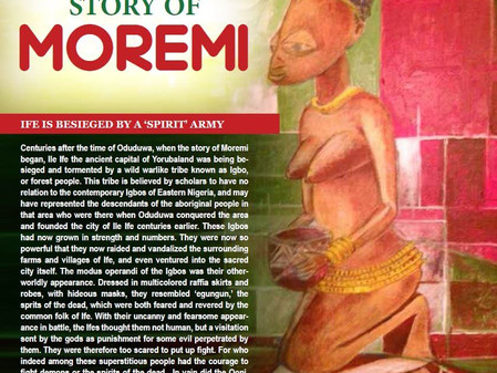 THE STORY OF MOREMI