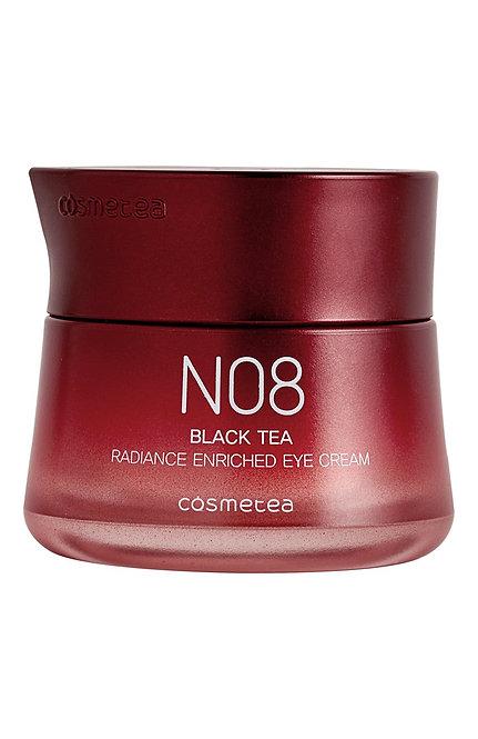 COSMETEA, Насыщенный питательный крем для глаз Black Tea