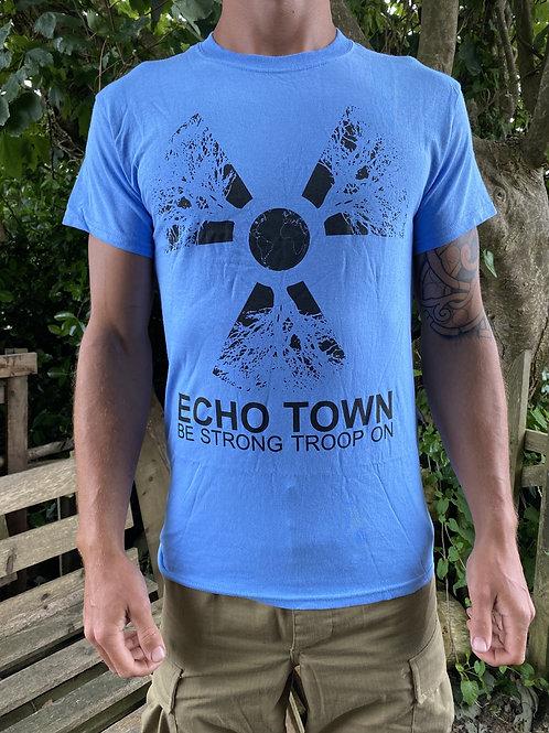 Blue 'Troop On' T-shirt