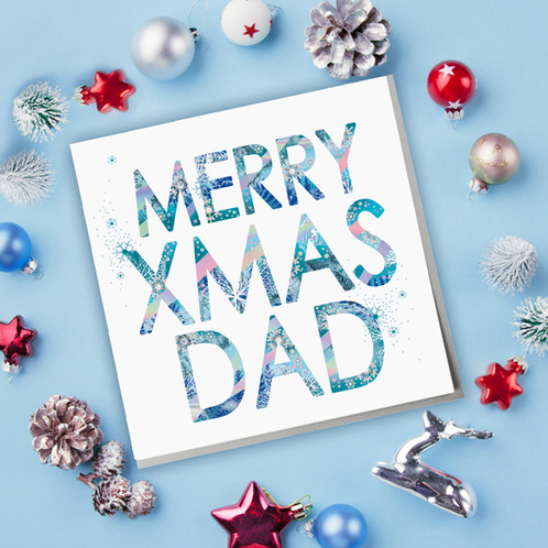 merry xmas dad christmas card - Merry Christmas Dad