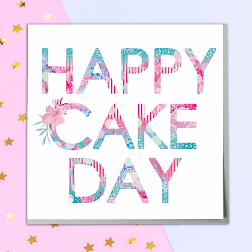 Lola design ltd beautiful greeting cards art gifts view all cake day greeting card m4hsunfo