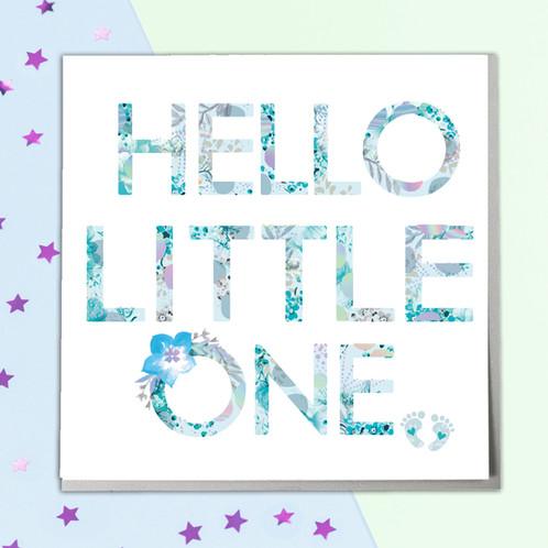 Baby boy greeting card m4hsunfo