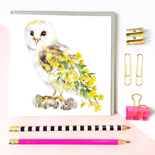 Lola design ltd beautiful greeting cards art gifts owl owl greeting card m4hsunfo