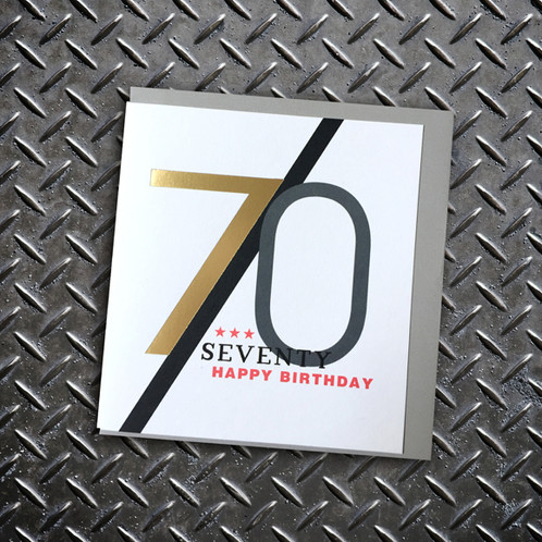 Looking For That Special 70th Birthday Card Then Check Out The New Rocky Milestone Ages Greeting Range