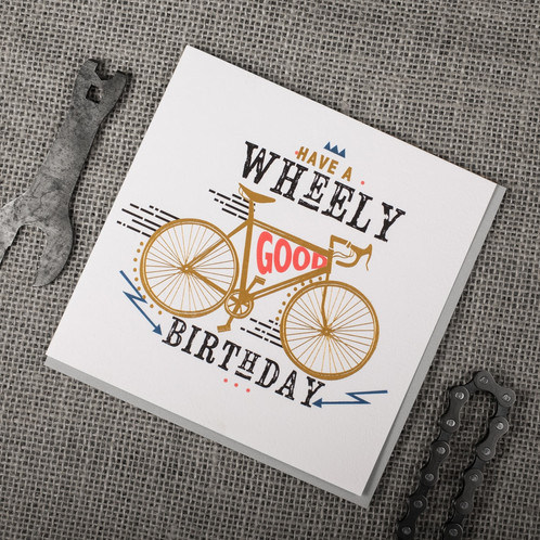Wheely good birthday greeting card lola design ltd beautiful wheely good birthday greeting card lola design ltd beautiful greeting cards art gifts bookmarktalkfo Image collections