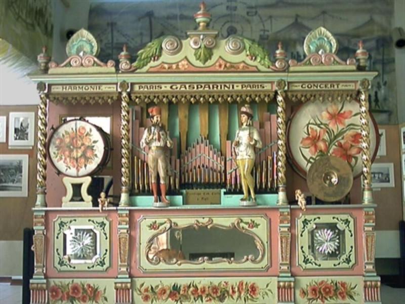 Storico carillon del giostraio