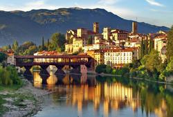 Bassano del Grappa e il famoso Ponte