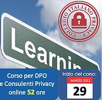 Corso DPO | Collegio Italiano Privacy.pn
