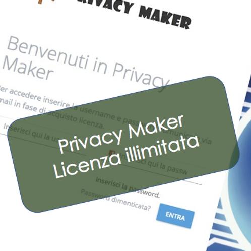 Privacy Maker - Licenza per un numero illimitato di Aziende
