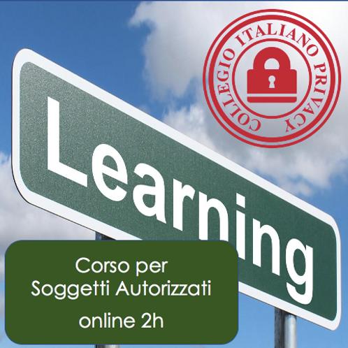 Corso GDPR per Soggetti Autorizzati (online di 2h)