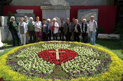 Gruppenfoto Senioren aus der Gemeinde