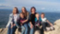 Foto Asrid Körner mit ihren Kindern