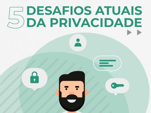 5 Desafios atuais da Privacidade